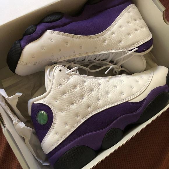 Jordan Shoes | Laker 3s Jordans | Poshmark